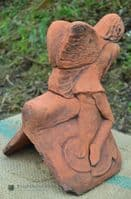 Fairy Roof finial angled ridge tile